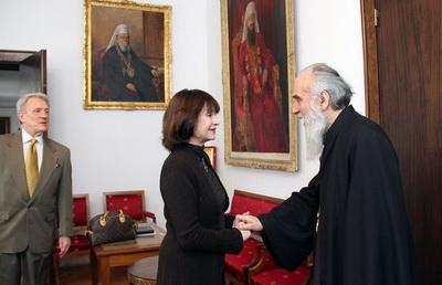 Кнегиња Јелисавета у посети Патријаршији